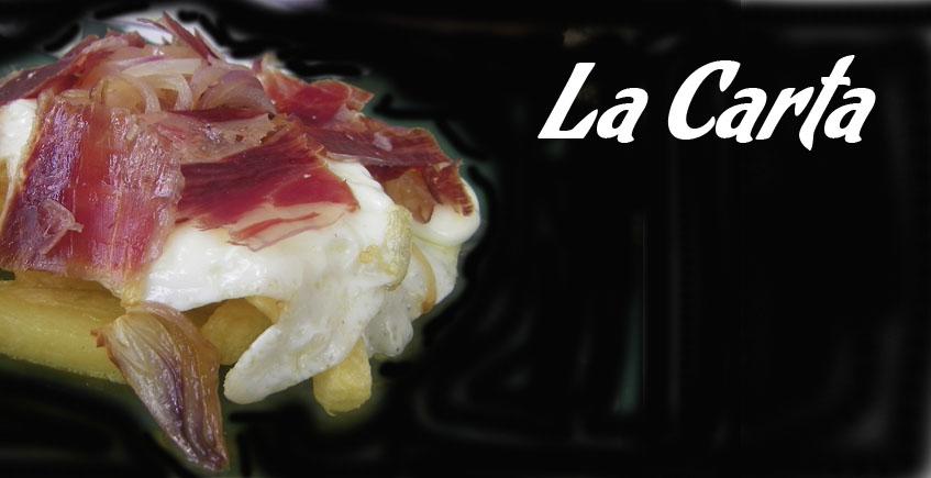 Cartas de bares y restaurantes de la provincia de Cádiz