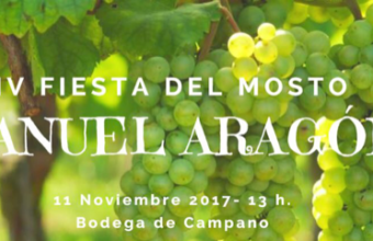 11 de noviembre. Chiclana. Fiesta del mosto en Bodegas Manuel Aragón