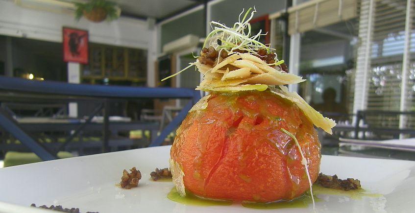 El tomate confitado del Bar Juan Antonio