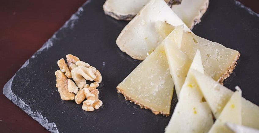 La tabla de quesos del Mesón Los Nuevos Olivares