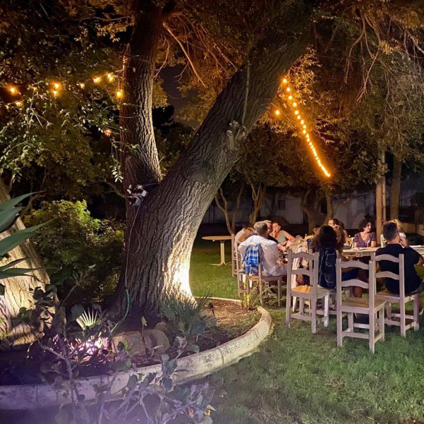 Los brunchs de Al Fresco se sirven al aire libre. Foto cedida por el establecimiento