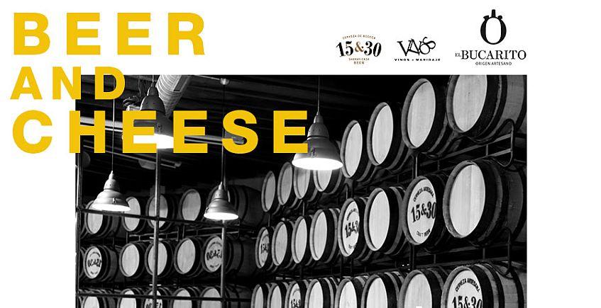 22 de noviembre. Jerez. Visita a la bodega de 15&30 y cata de cerveza y queso