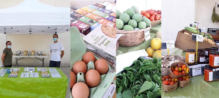 Mercado artesanal y agroalimentario en la Casa de los Toruños