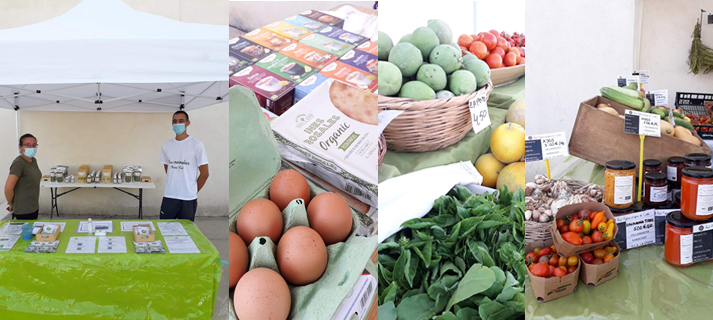 Mercado agroalimentario en Los Toruños