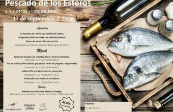 Pescado de los Esteros y los otros vinos de Jerez en La Gaviota
