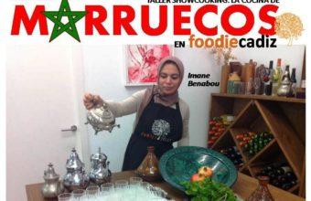 Taller de cocina de Marruecos en Foodie Cádiz