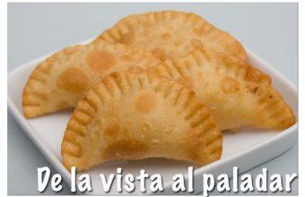 Empanadilla de relleno de croqueta o 'Empanadicreta'