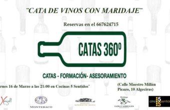 16 de marzo. Algeciras. Cata de vinos con maridaje
