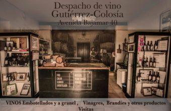 Visita a la bodega Gutiérrez-Colosia con maridaje