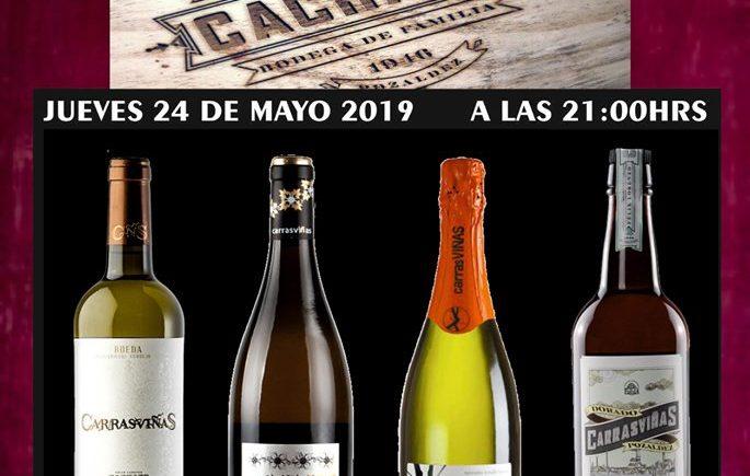 Cata de vinos y cava en La Trastienda/Lusol de Chiclana el 23 de mayo