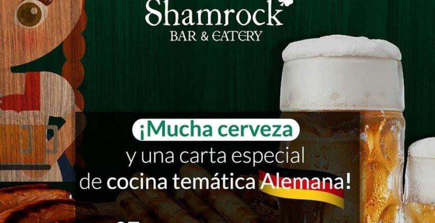 Oktoberfest enThe Shamrock Bar & Eatery del 27 de septiembre al 6 de octubre en El Puerto