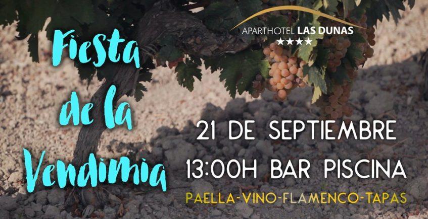 Fiesta de la Vendimia el 21 de septiembre en Las Dunas de Chiclana
