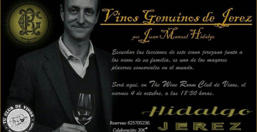 Cata de vinos genuinos de Jerez el 4 de octubre en San Fernando