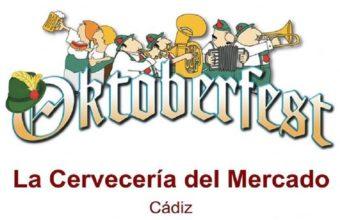 Oktoberfest en El 118 La Cervecería del Mercado del 10 al 13 y del 17 al 20 de octubre en Cádiz