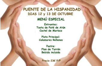 Menú Especial en la Peña Gastronómica El Berrueco el 12 y 13 de octubre