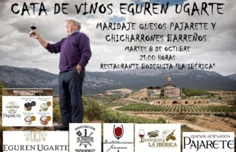 Cata de vinos Eguren Ugarte el 8 de octubre en Los Barrios