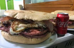Las hamburguesas de laHamburgueseríaBrighton