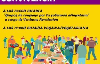 Charla sobre grupos de consumo y convivencia vegana