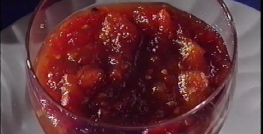 Tomate en dulce de Casa Bigote