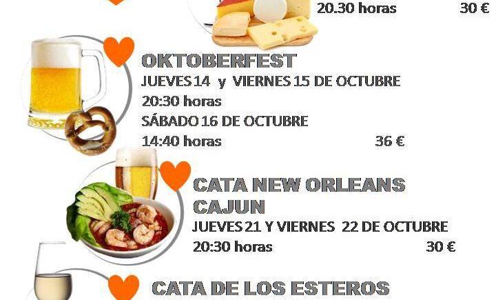 Las catas de octubre de Foodie Cádiz