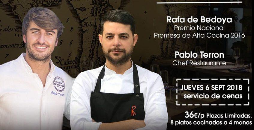 Jueves 6 de septiembre: Rafa de Bedoya y Pablo Terrón muestran su cocina en Puerto Escondido