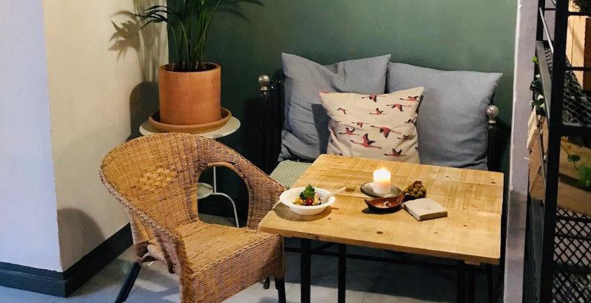 Los noodless de Alma Verde Café