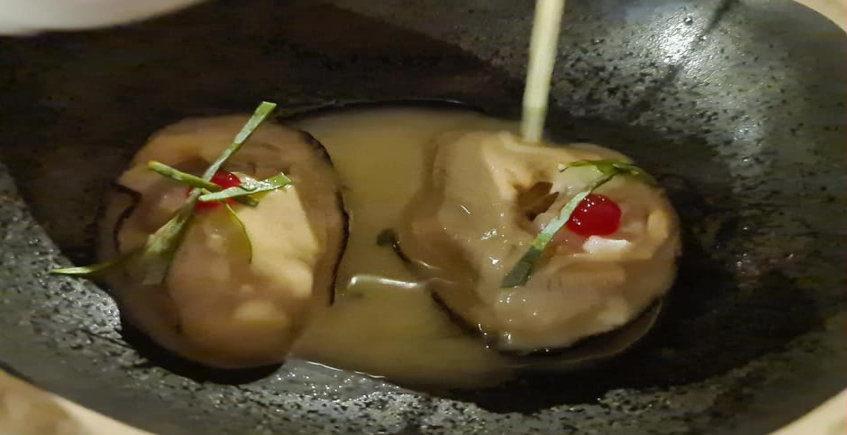 Las ostras del restaurante Amar