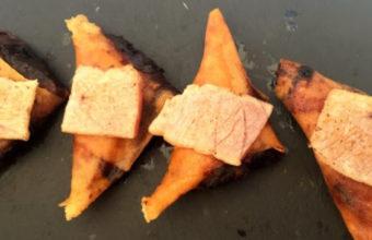 Las empanadillas de atún de almadraba de Amura Multibar