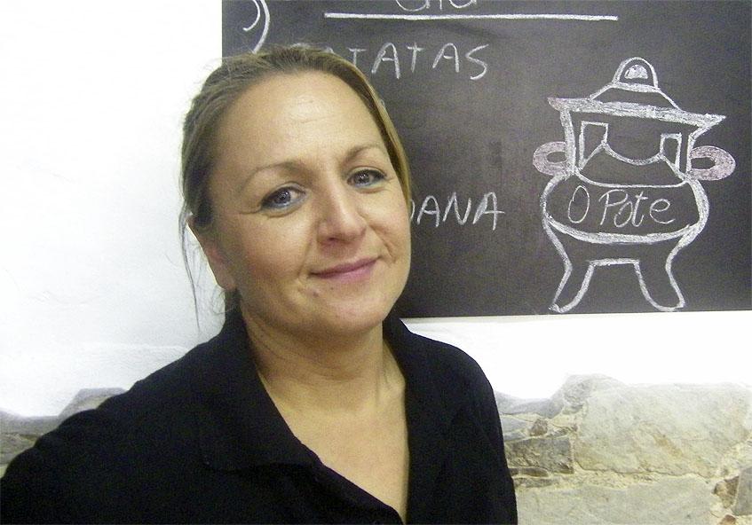 Ana Pita, la autora de esta tarta. Foto: Cosasdecome