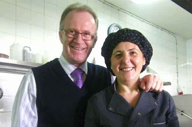 La cocinera Carmen Prieto