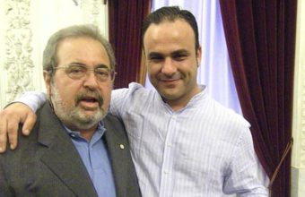 8 de junio. Cádiz. Pepe Pérez Moreno ingresa en el Ateneo