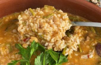 El arroz de berza del Restaurante Arrocería La Pepa