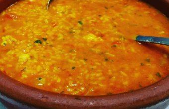 El arroz caldoso de Casa Manolito