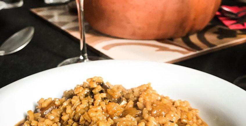 El arroz con boletus, pato y foie de Ché Craft Paella