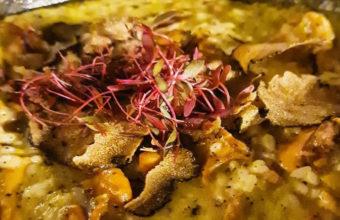 El arroz de trufa de Entrebotas