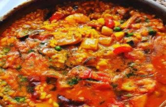 El arroz marinero del Restaurante La Fontanilla