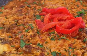 El arroz con carrillada ibérica de La Cabaña de Cecilón