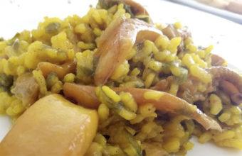 El arroz con chocos de la Venta Melchor