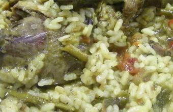 El arroz con paloma torcaz del restaurante El Castillo