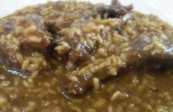 El arroz con pato de la Venta El Raspa