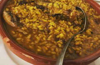 El arroz con perdiz del Mesón Rústico Machin
