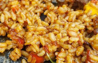 El arroz con presa de El Ibis Restaurante