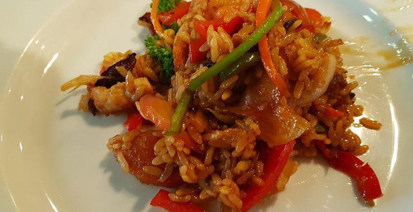 El arroz frito de la Taberna Argüeso