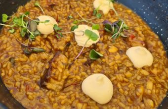 El arroz meloso con atún de Feduchy Playa