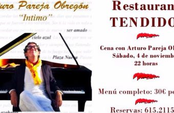 4 de noviembre. Jerez. Cena con Arturo Pareja Obregón en Restaurante Tendido 6.