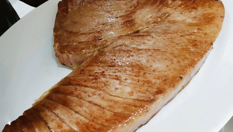 El chuletón de atún de El Campero