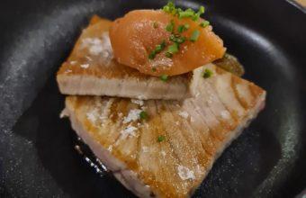El tarantelo de atún rojo con alioili de membrillo de Variopinto