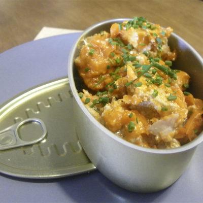 Atún en manteca, uno de los platos que ofrece el establecimiento. Foto: Cosasdecome