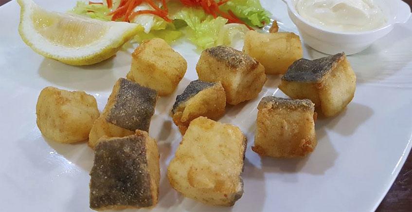 El bacalao frito de El Pescaíto