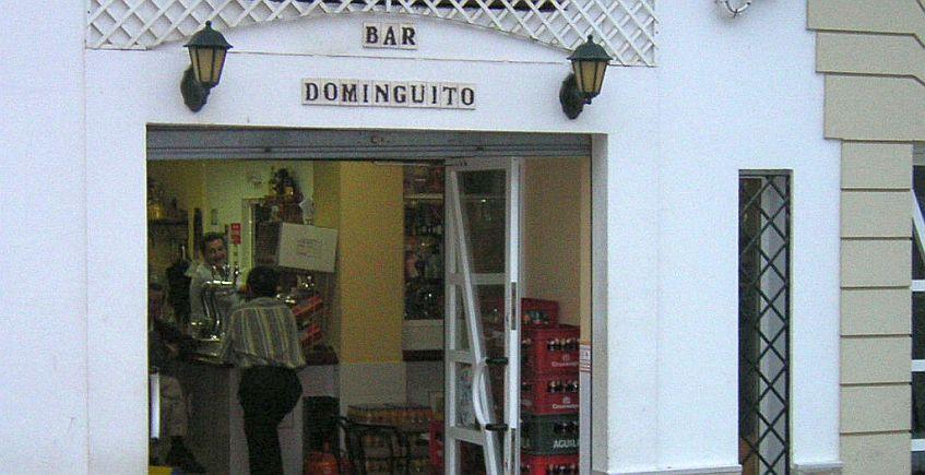 Las albóndigas en tomate del bar Dominguito